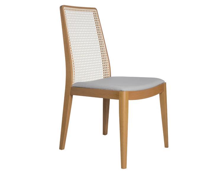 cadeira em palha natural bene 108608 cadeira em palha natural bene cinza