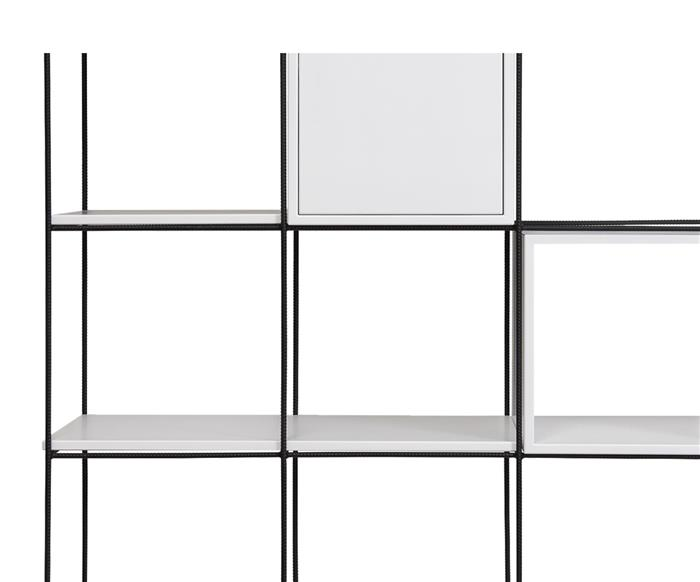 prateleira média para estante cubic 083006 prat m branca 2