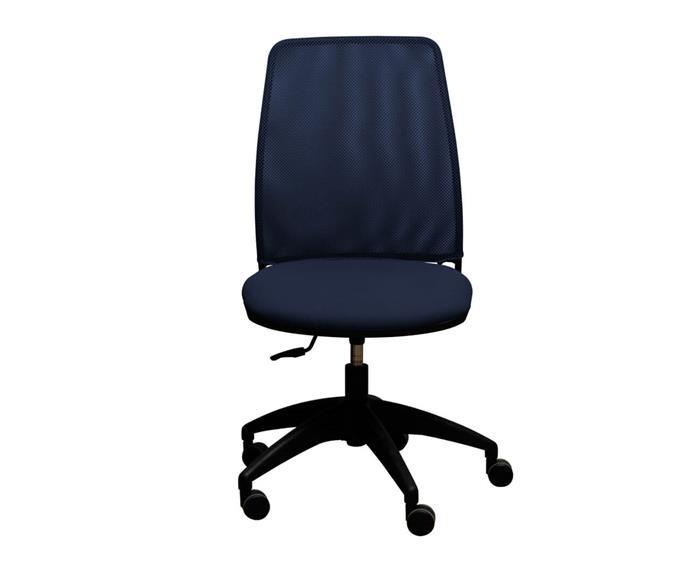 cadeira de escritório job 031502 cadeira de escritório job azul