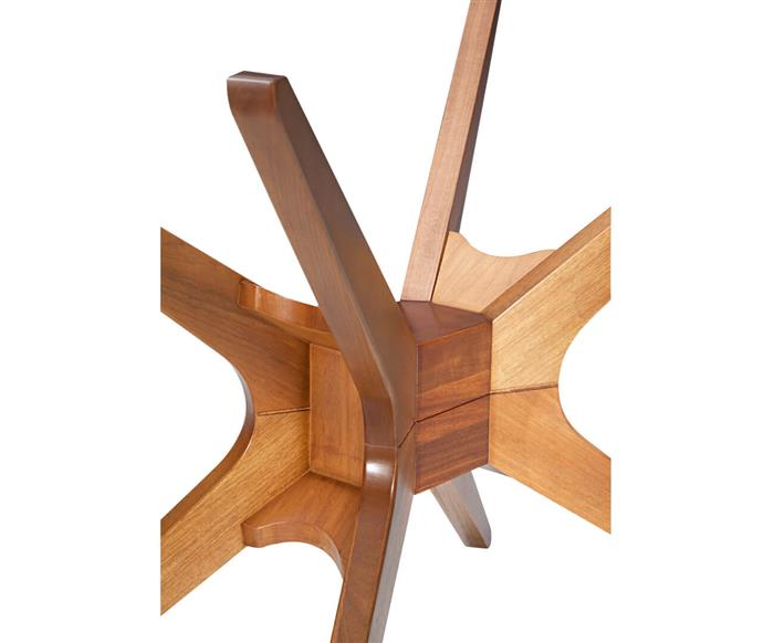 base de mesa retangular em madeira XS 105517 base de mesa retangular em madeira XS madeira clara
