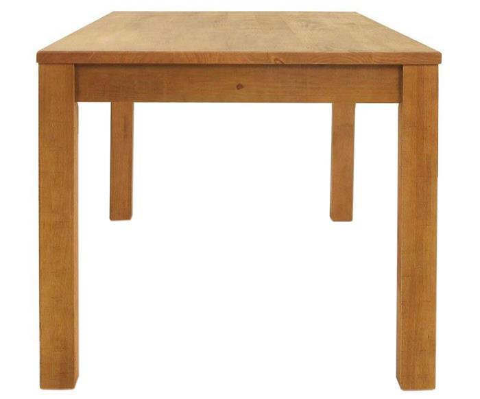 mesa de jantar em madeira maciça quadra 018117G mesa de jantar em madeira maciça quadra clara