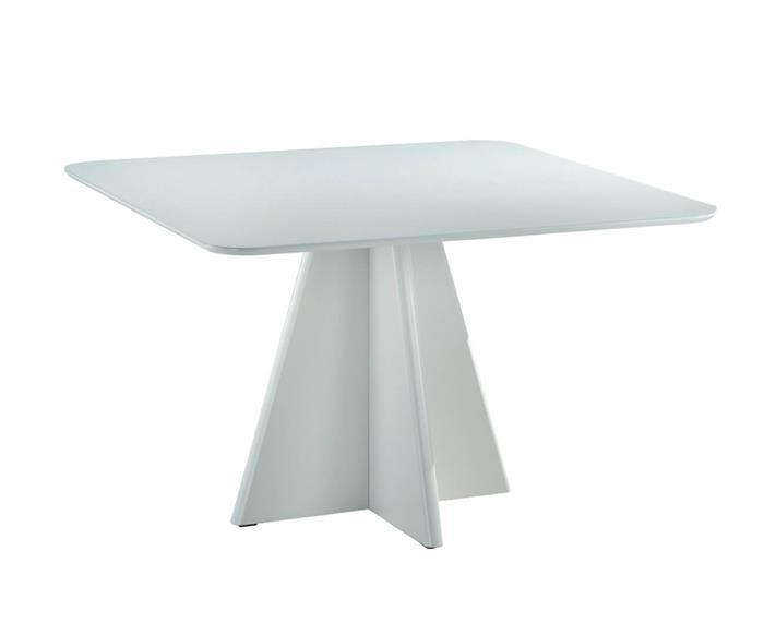 mesa de jantar quadrada paris 095706G mesa de jantar quadrada paris branca