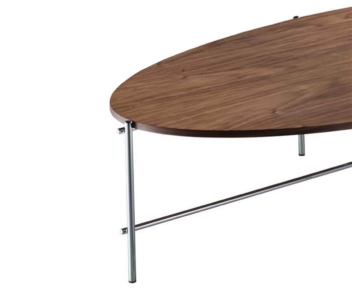 mesa de centro oval marais 129323 mesa de centro oval marais prata