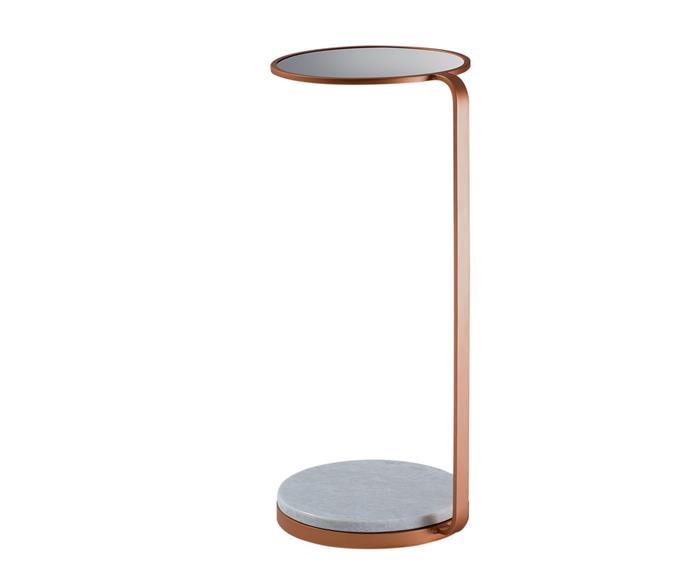 mesa de apoio com espelho e mármore nice 122313 mesa de apoio com espelho e mármore nice cobre