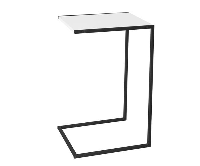 mesa lateral camden (tampo brilho) 121706 mesa lateral camden tampo brilho branco