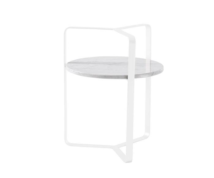 mesa lateral em mármore string 121406 mesa lateral em mármore string branca