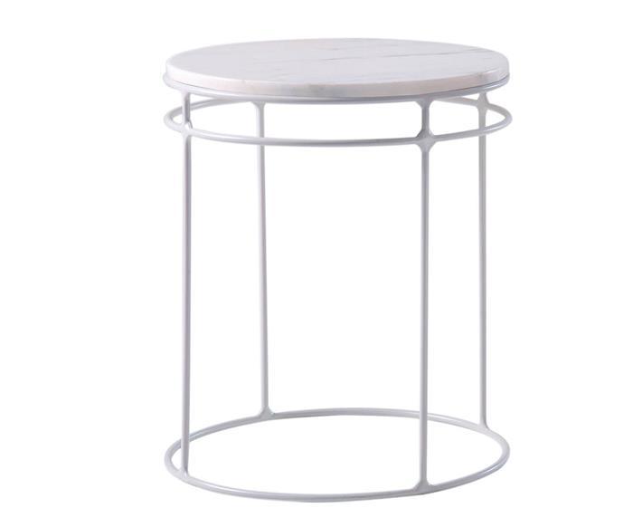 mesa lateral redonda genebra em mármore 120706 mesa lateral redonda genebra em mármore branca