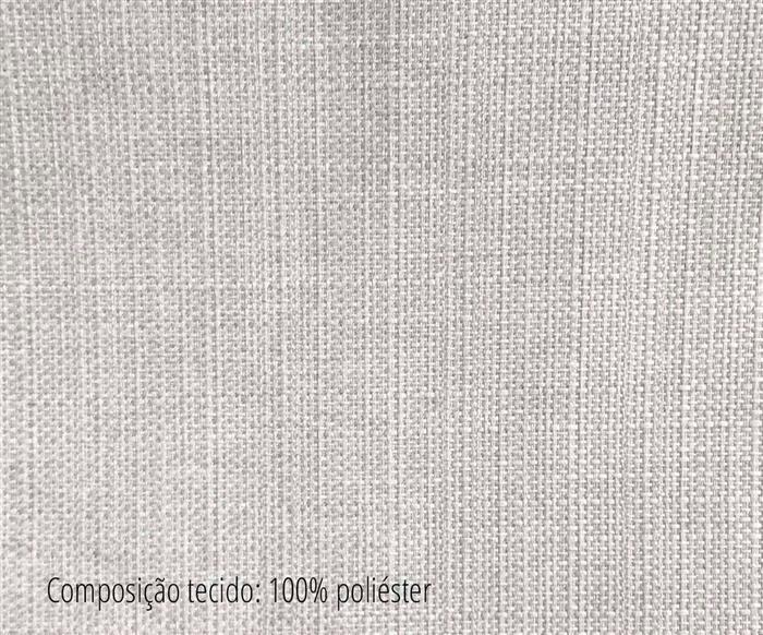 banqueta de madeira giratória star 088008 tecido banqueta giratória de madeira e tecido cinza claro