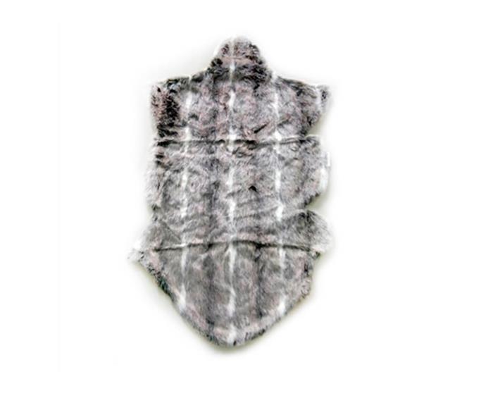 pelego de pele jackie 043410 pelego de pele sintetica cinza2