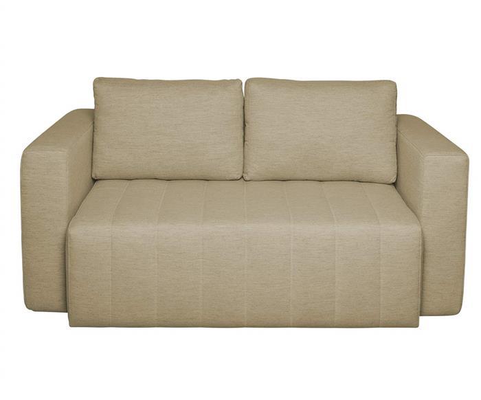 sofá-cama baú nest 127204 sofá-cama com bau linho bege