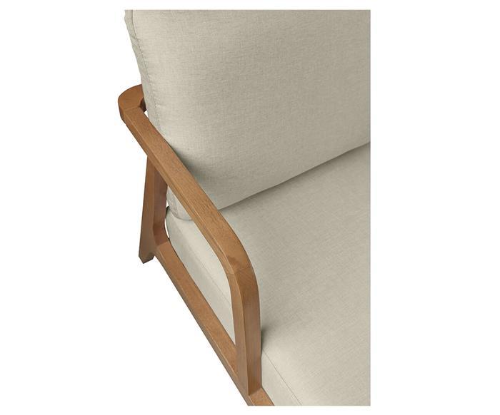 poltrona em madeira maciça itaim 122304 poltrona em madeira maciça itaim bege