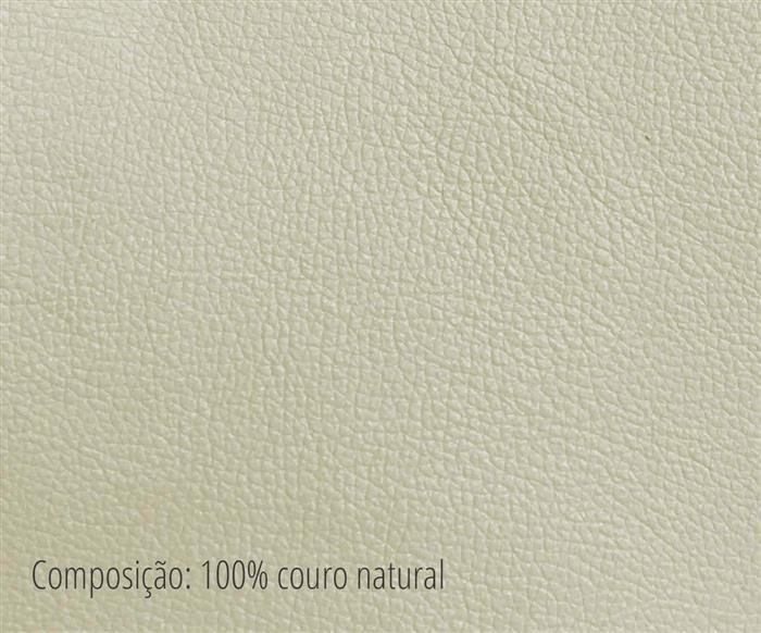 sofá 3 lugares em couro natural milão 020313 ted
