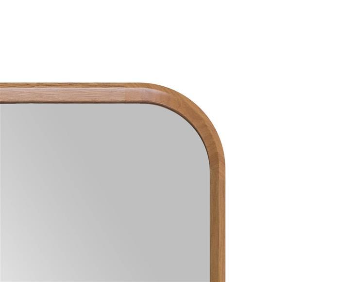 espelho de corpo inteiro retangular em madeira oslo 130017 espelho de corpo inteiro retangular em madeira oslo madeira clara