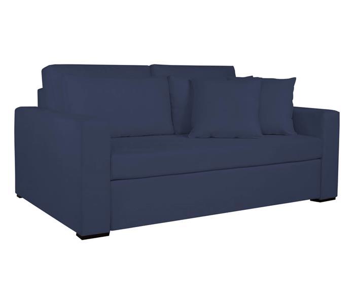 sofá-cama boston 013503 sofa-cama azul marinho sarja