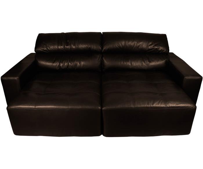 sofá 4 lugares retrátil em couro natural london 024719 sofá 4 lugares retrátil e reclinável em couro natural 1