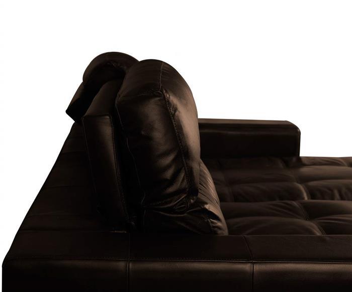 sofá 4 lugares retrátil em couro natural london 024719 sofá 4 lugares retrátil e reclinável em couro natural 3