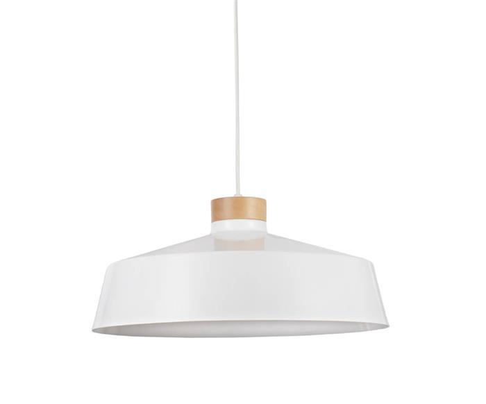 pendente em metal e madeira master 099206 pendente em metal e madeira master branco
