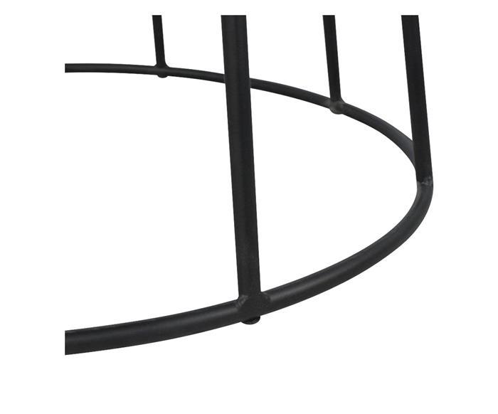 mesa de jantar redonda base em metal mykonos 133717 3