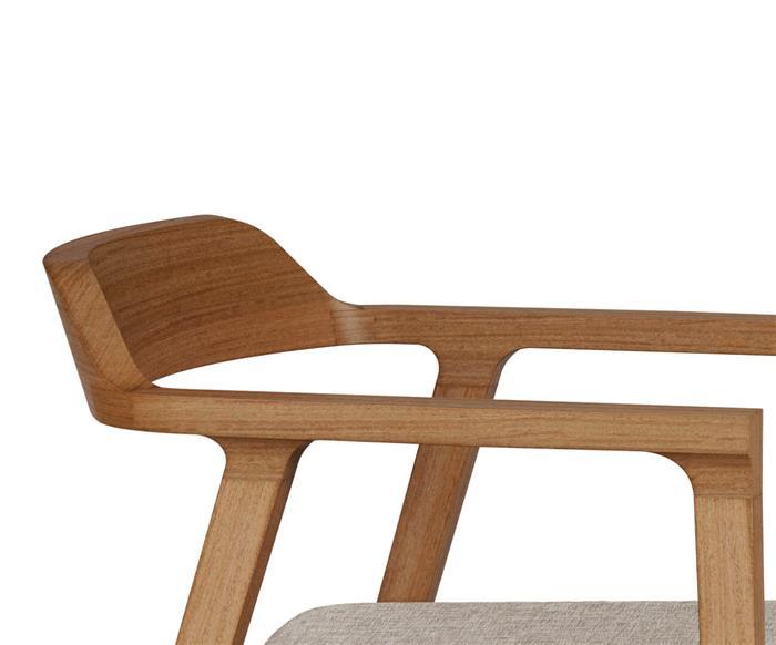 poltrona em madeira maciça bari 136104 poltrona em madeira maciça bari bege