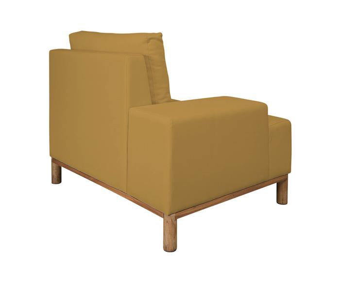 módulo com braço esquerdo - sofá modular 203 139201G sofa modular linho amarelo 2