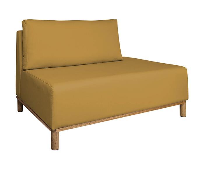 módulo recamier terminação direita - sofá modular 203 319603G sofa modular modulo recamier amarelo