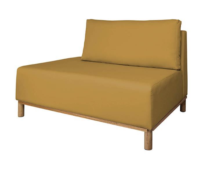 módulo recamier terminação esquerda - sofá modular 203 139701G modulo recamier sofa modular amarelo