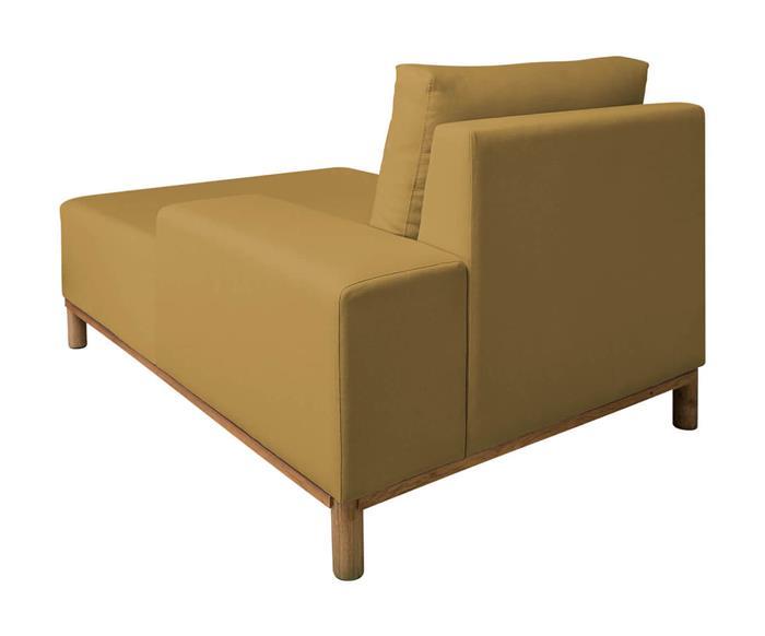 módulo chaise braço direito - sofá modular 203 139401 sofa modular chaise amarelo6