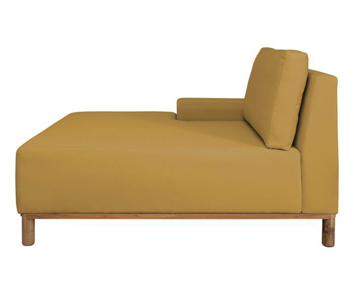 módulo chaise braço esquerdo - sofá modular 203 139503 chiase sofa modular amarelo3