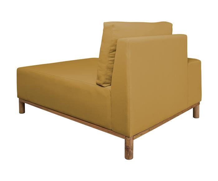 módulo chaise braço esquerdo - sofá modular 203 139503 chiase sofa modular amarelo4