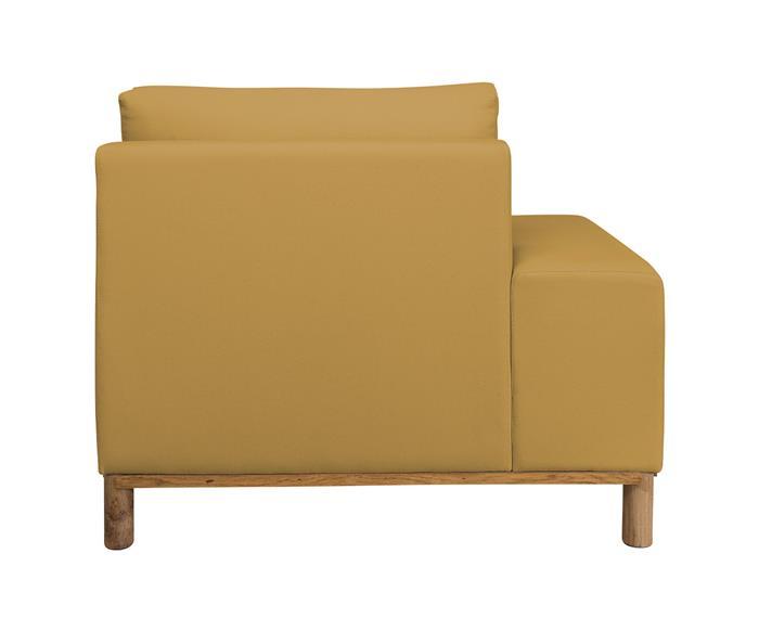 módulo chaise braço esquerdo - sofá modular 203 139503 chiase sofa modular amarelo5