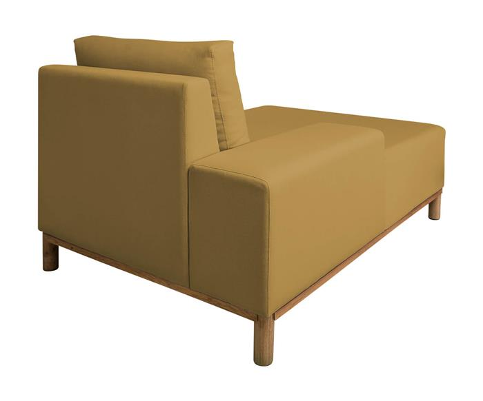 módulo chaise braço esquerdo - sofá modular 203 139503 chiase sofa modular amarelo7