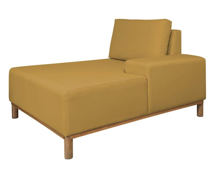 módulo chaise braço esquerdo - sofá modular 203 139503 chiase sofa modular amarelo8