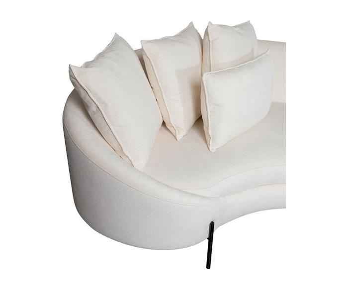 sofá redondo spiral (chenille 100% algodão) 1400G sofá redondo algodão 3