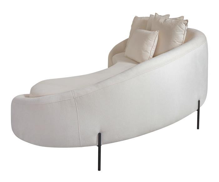 sofá redondo spiral (chenille 100% algodão) 1400G sofá redondo algodão 4
