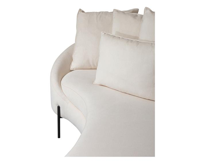 sofá redondo spiral (chenille 100% algodão) 1400G sofá redondo algodão 6