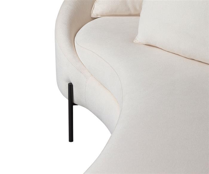 sofá redondo spiral (chenille 100% algodão) 1400G sofá redondo algodão 8