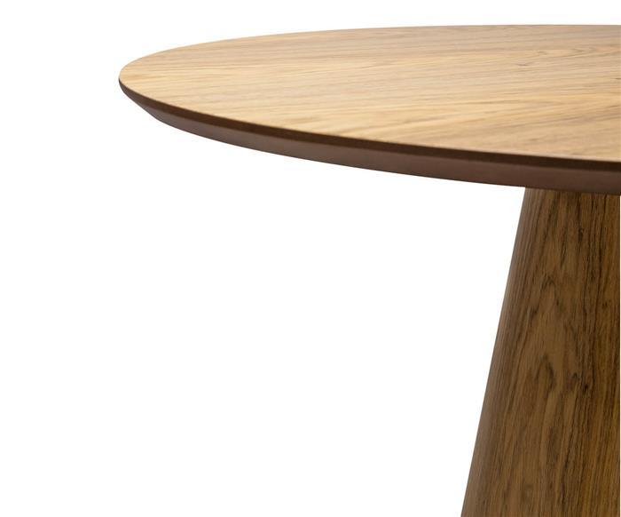 mesa de jantar cone veneza em madeira 0200G mesa de jantar cone veneza em madeira