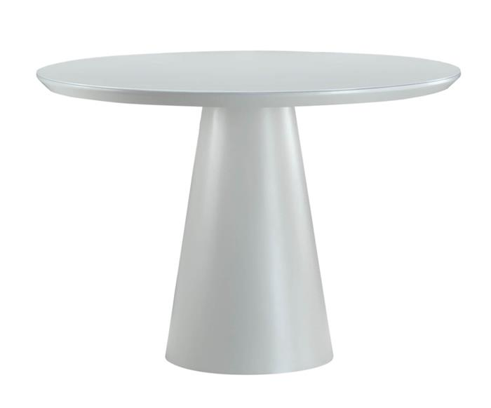mesa de jantar cone veneza em laca 0982G mesa de jantar cone veneza em laca
