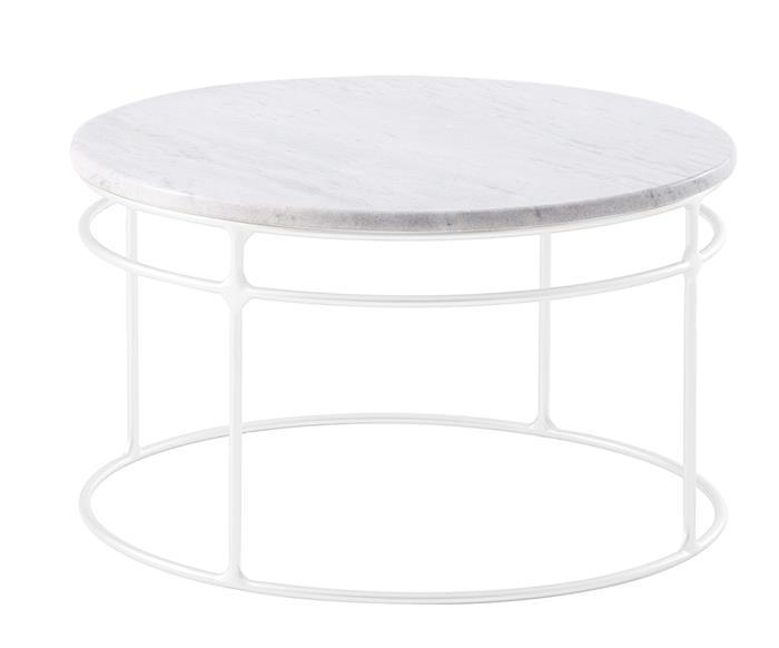 mesa de centro redonda genebra tampo mármore 120506G mesa de centro redonda genebra tampo mármore grande branco