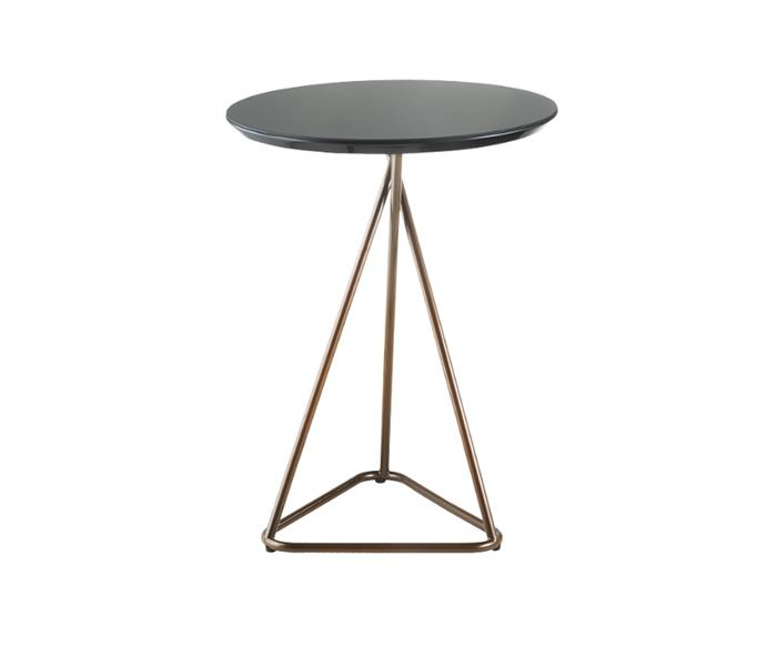 mesa lateral cobre triângulo 0803A mesa lateral cobre triângulo