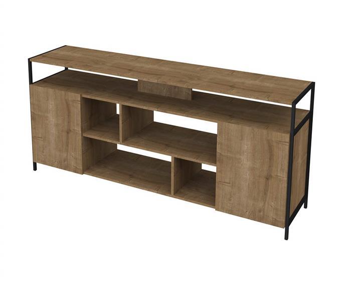 rack em metal e madeira camden 0922G rack em metal e madeira camden grande