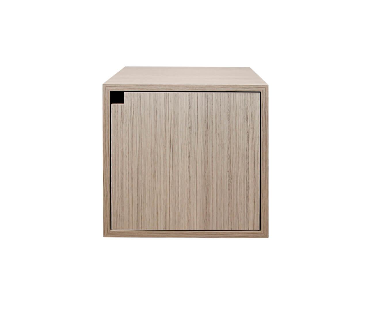 nicho com porta para estante cubic 0827