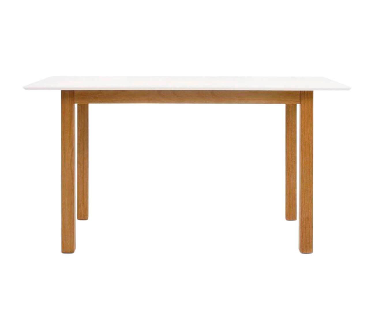 mesa de jantar tampo branco urban 0859