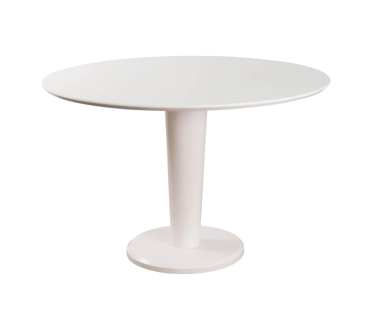 mesa de jantar redonda branca cloud 0168