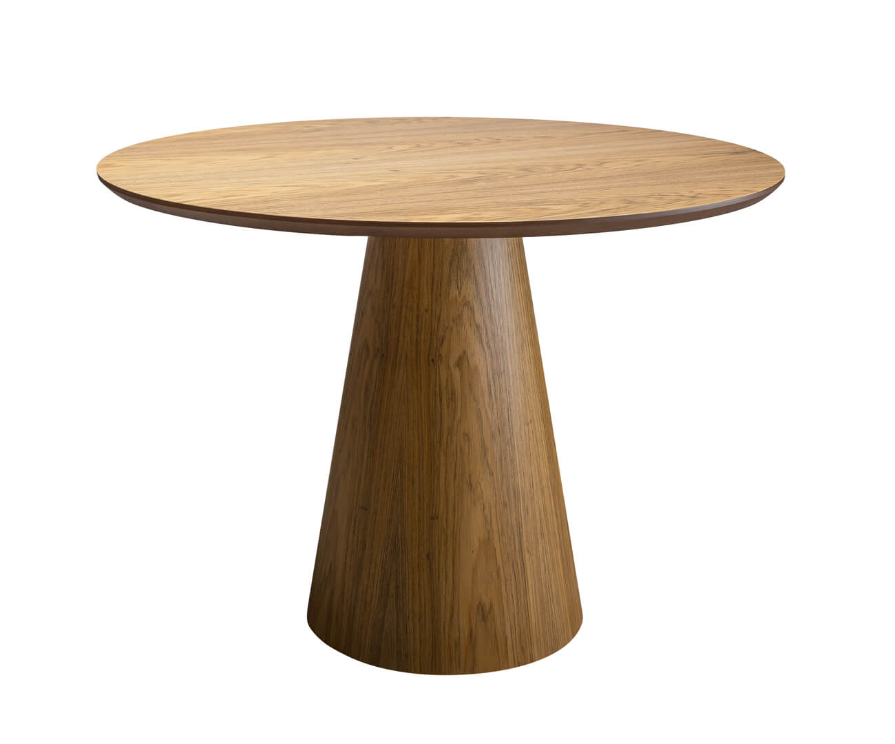 mesa de jantar cone veneza em madeira 0200