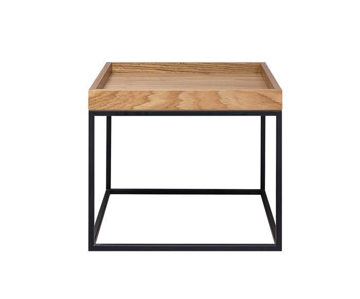 mesa de centro tampo bandeja cube 1304