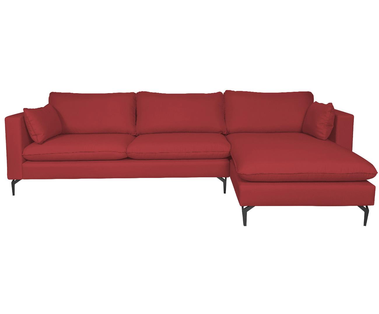 sofá com chaise 3 lugares arco 1232