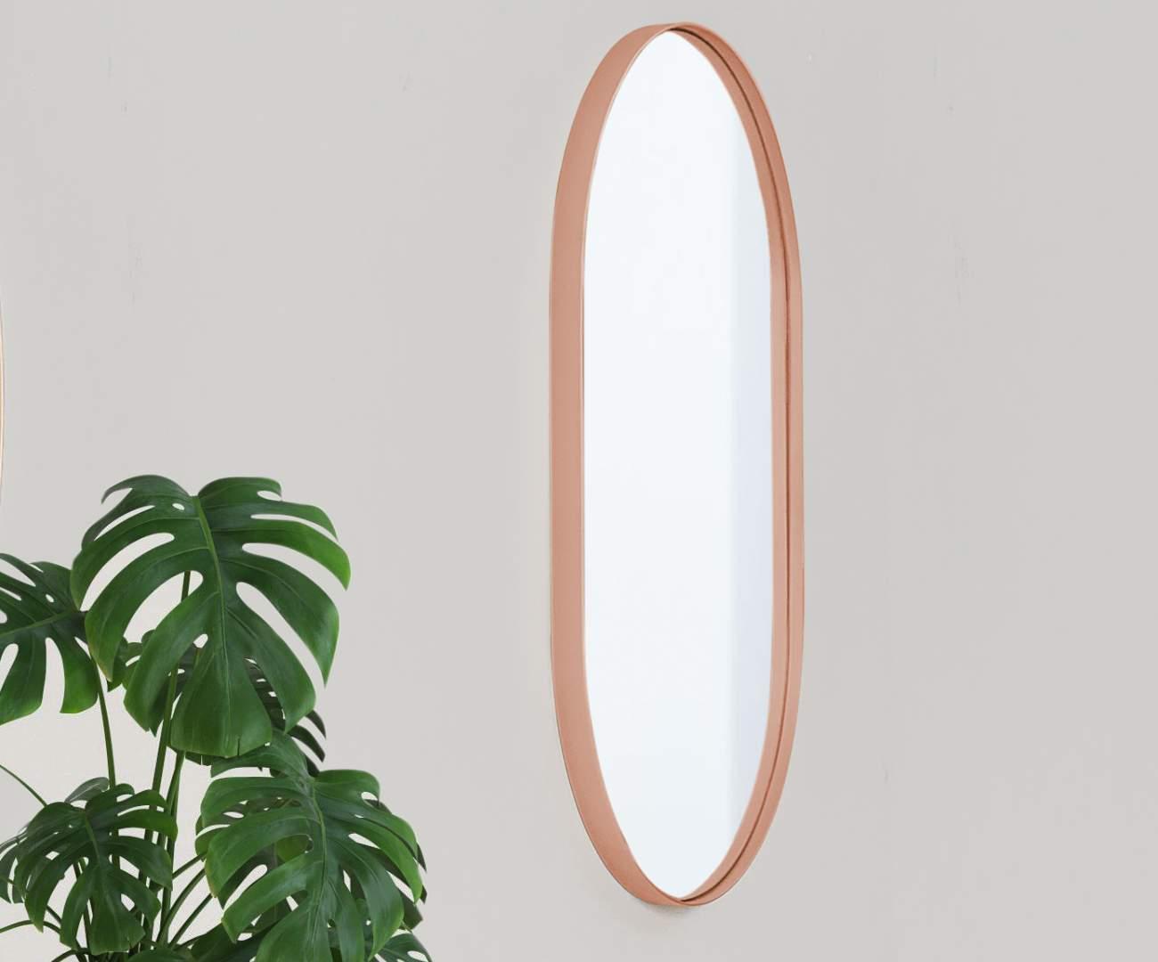 espelho oval cobre asturias 1136