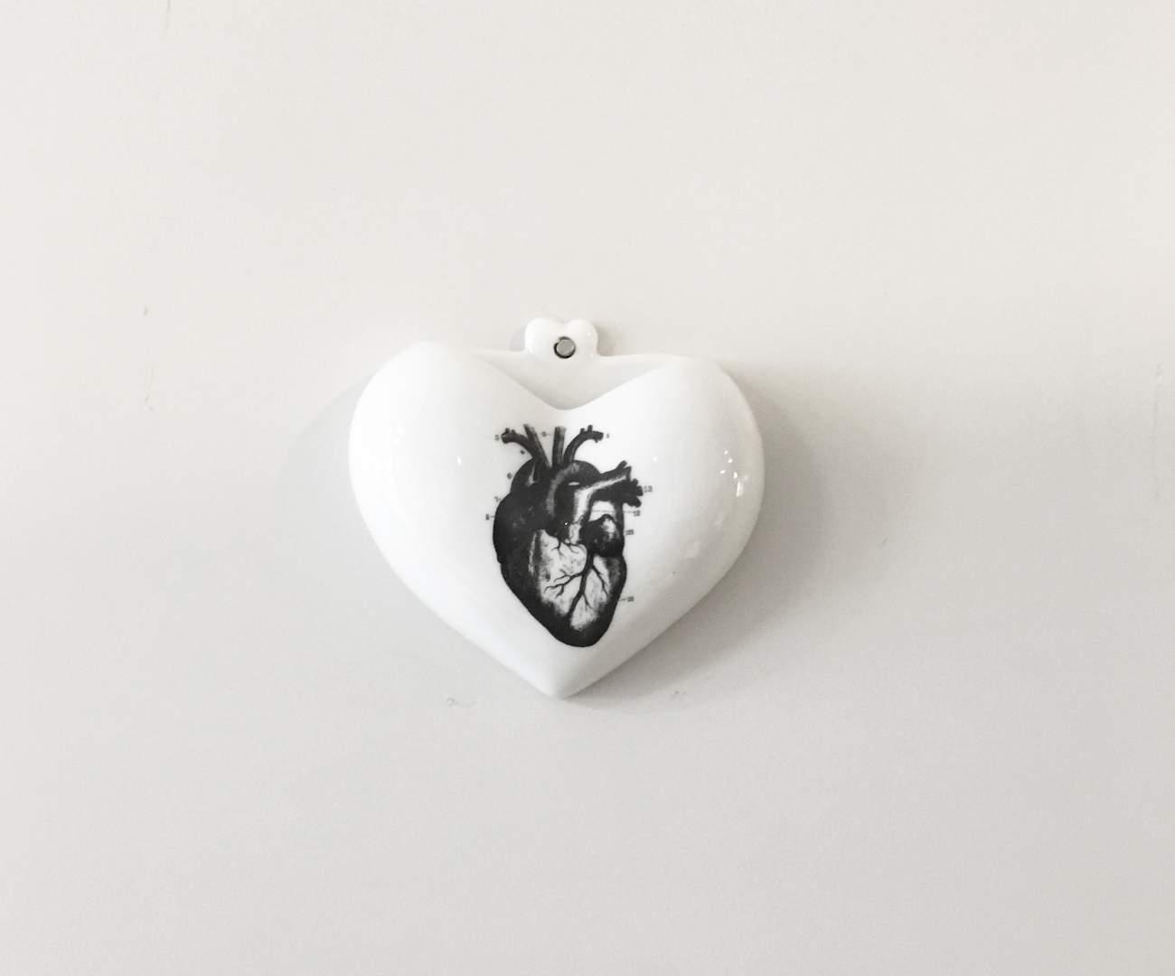 vaso de parede coração (heart) 0868