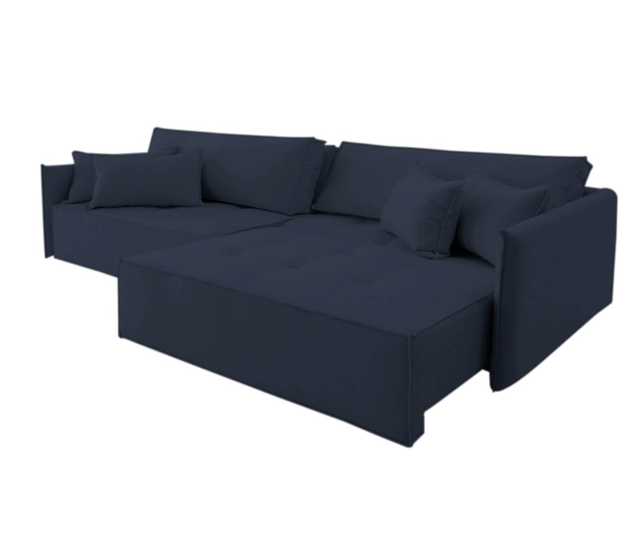 sofá retrátil 4 lugares em molas sogno 1069